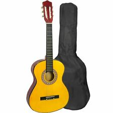 More details for childrens 1/4 size classical guitar pack with 6 months free lessons
