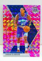 Jordan Clarkson 2019-20 NBA Panini CAMO PINK MOSAIC PRIZM Card #197 Utah Jazz SP