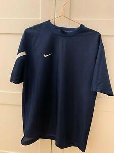 Nike sport sweat T-shirt blue with logo size M