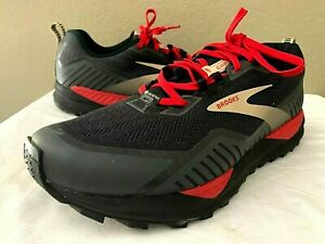 MENS BROOKS CASCADIA 15 HIKING TRAIL RUNNING SHOES SIZE 10.5 D GORE-TEX