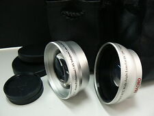 KTW SL 43mm Telephoto, Wide Angle Lens For Samsung NX500 NX3000 NX3300 w/16-50mm
