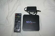 MXQ Pro 4K Smart TV Box - black