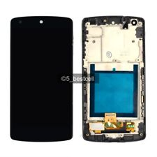 White For LG Google Nexus 5 D820 D821 Lcd Display Touch Digitizer Assembly+Frame