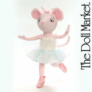"Madame Alexander - Angelina Ballerina Swan Lake 18"" Cloth Doll - Retired"