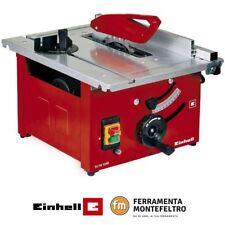 Sega circolare da banco per legno EINHELL TC-TS 1200 - accessorio e lama inclusi