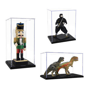 Acrylic Display Case Large Dustproof Clear Box Figures Collectibles Model Doll