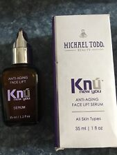 Knu New You Michael Todd Serum Anti-Aging Face Lift Serum 1.2 Oz; New!