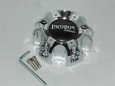 INCUBUS WX04C CAP WX-04 135/139.7-6H S712-17 WHEEL RIM CHROME CENTER CAP 6 LUG