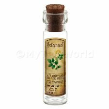 Dolls House Apothecary Goldenseal Herb Long Colour Label And Bottle