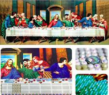 Taladro completo de Pintura de diamantes 5D 50 X 40 Cm-La última cena-hágalo usted mismo