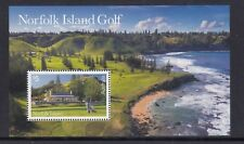 NORFOLK Island 2018 - GOLF $5 Norfolk Clubhouse MINISHEET MNH   - SPORT