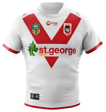 St George Dragons 2018 Home Jersey Sizes Small - 6XL NRL XBlades SALE