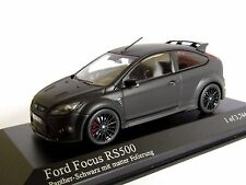 MINICHAMPS FORD FOCUS RS 500 2010 MATT BLACK 1/43 RS500