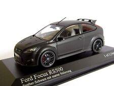 MINICHAMPS FORD FOCUS RS 500 2010 MATT BLACK 1/43 RS500