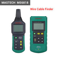 MS6818 Mastech Wire Cable Finder Locator Telephone Network Metal Pipe Tester