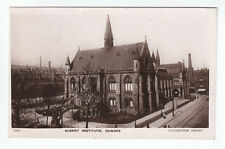 Albert Institute Dundee 1878 Real Photograph Posted 30 Aug 1910 Borthwick