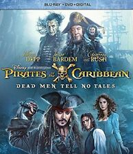 Pirates of the Caribbean: Dead Men Tell No Tales (Blu-ray/DVD, 2017, 2-Disc Set)