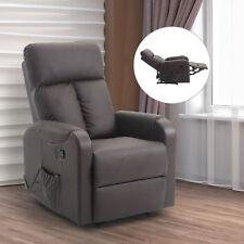 Massagesessel mit Wärmefunktion Relaxsessel Fernsehsessel Liegefunktion Braun