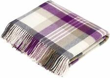 Bronte by Moon Melbourne Clover Throw 100% Wool British Made