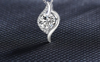 Lucky Winding 925 sterling silver Pendant with necklace chain Women Gift UK