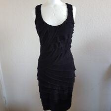 Warehouse robe noire soirée coctail conviendrait à tous les Saints Taille 10/38/S/M