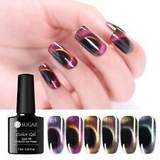 UR SUGAR 7.5ml Cat Eye Gel Polish Magnetic Soak Off UV Nail Gel Black Based Need