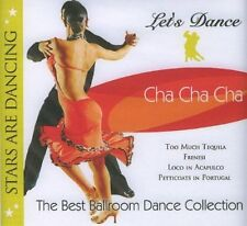 Let's Dance Cha Cha Cha (Ballroom) CD BRAND NEW Musica Montte From canada #238