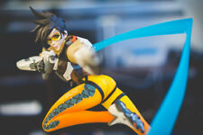 TRACER STATUE ORIGINAL FACE V1 -Limited Ed. Blizzard Blizzcon 2014 Overwatch NIB