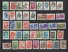 années 70/90 RUSSIE 40 timbres oblitérés  / T1429