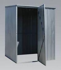RIGID SECURE Galvanized Steel Shed Storage HUT Garden 1.5m X 0.8m X 1.5m