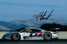 Bernd SCHNEIDER Signed Photo 4 Autograph AFTAL COA DTM Touring Car Mercedes AMG