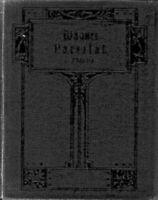 R. WAGNER ~Parsifal , Klavierauszug mit Text gebunden