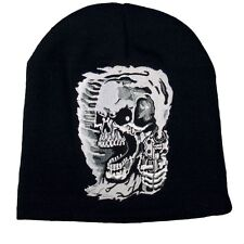 ASSASSIN Beanie Knit Cap Motorcycle Biker Hat Ski Snow Skull USMC Army Sniper