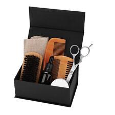 8Pcs/Set Beard Balm Oil Comb Mustache Grooming Set Home & Travel Hair Kit Gift