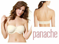Panache Evie Underwired Moulded Strapless Bra 5320 Ivory New Womens Lingerie