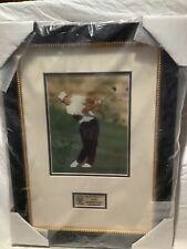 New listing Jim Furyk Autograph Auto Signed 8x10 Framed Picture Golf PGA Pro Tour COA