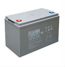 Batteria al piombo ricaricabile FIAMM 12 V 100 A 12FGL100