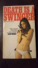 "Jason Morgan, ""Death is a Swinger,"" 1968, Lancer 74-967, VG, 1st"