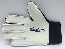 RARE Jim Montgomery Sunderland 1973  Signed Glove + COA AUTOGRAPH 1973 FA CUP