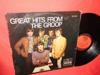 THE GROOP Great Hits from 1968 AUSTRALIA LP VG+ Rare Psych Beat Garage