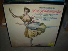 OZAWA / TCHAIKOVSKY swan lake ( classical ) 3lp box dgg - booklet -