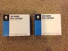 NEW NIP Creative Memories 2 Drop-in SEGMENT Tape Runner Refill Refills Cartridge