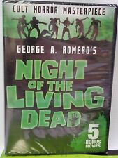Night Of The Living Dead (Dvd) + 5 movies w/ Vincent Price & Bela Lugosi