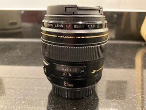 Canon EF85mm f/1.8 Lens