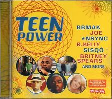 Teen Power (2000 CD) Britney Spears/Steps/BBMak/R Kelly/Sisqo/Nsync/Aaron Carter