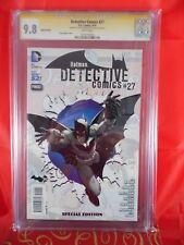 DC Comics Detective Comics #27 CGC SS 9.8 Signed By Greg Capullo & Scott Snyder