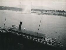 """SUISSE c. 1947 - Bateau à Vapeur """"Le Montreux"""" Genève - NV 2335"""