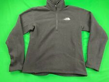 THE NORTH FACE THERMAL FLEECE LINED 1/4 ZIP SOFT SHELL PULLOVER JACKET SZ M EUC