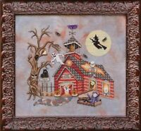 GLENDON PLACE Cross Stitch Pattern Chart GHOOL SCHOOL Halloween