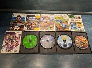 Lot of 10 Nintendo Wii Games